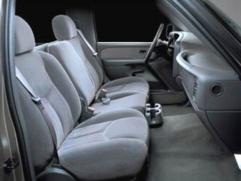 2004 chevrolet silverado 2500 regular cab Interior