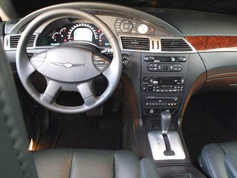 2004 chrysler pacifica Interior