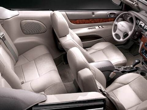 2004 chrysler sebring Interior