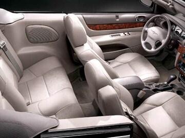 2004 Chrysler Sebring Interior