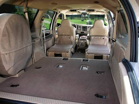 2004 ford excursion Interior