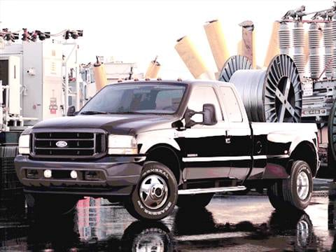 04 ford f350 mpg