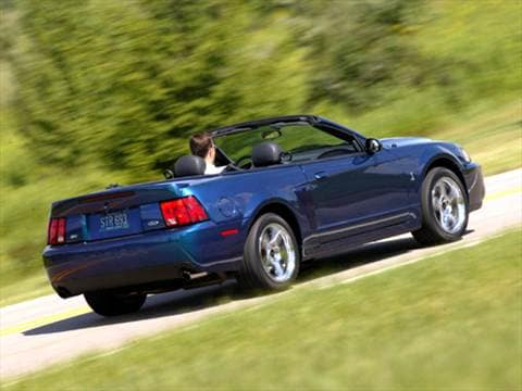2004 ford mustang cobra svt convertible 2d pictures and videos kelley blue book. Black Bedroom Furniture Sets. Home Design Ideas