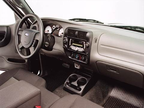 2004 ford ranger super cab Interior