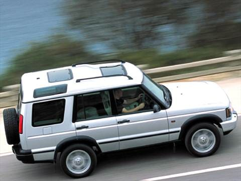 2004 land rover discovery Exterior