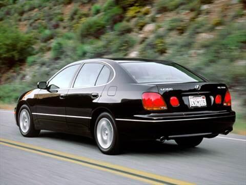 2004 lexus gs300 mpg