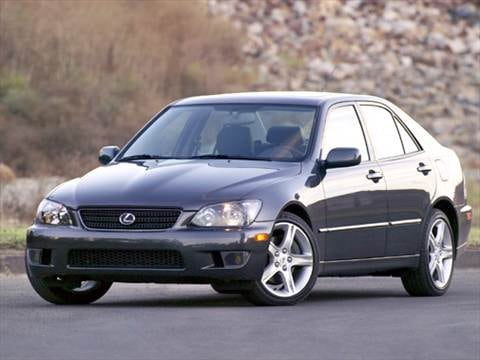 2004 lexus is Exterior
