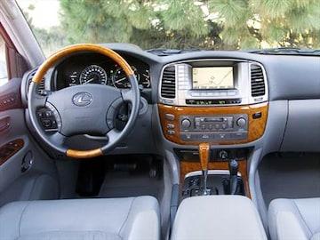 2004 Lexus Lx Interior