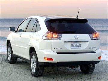 2004 lexus rx pricing ratings reviews kelley blue book 2004 lexus rx exterior sciox Gallery