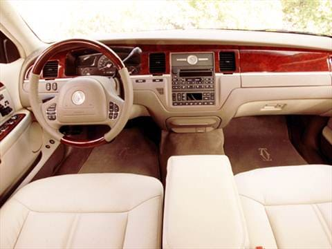 2004 lincoln town car Interior
