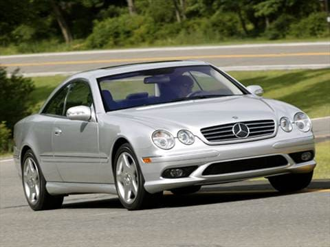 2004 mercedes benz cl class pricing ratings reviews for Mercedes benz blue book