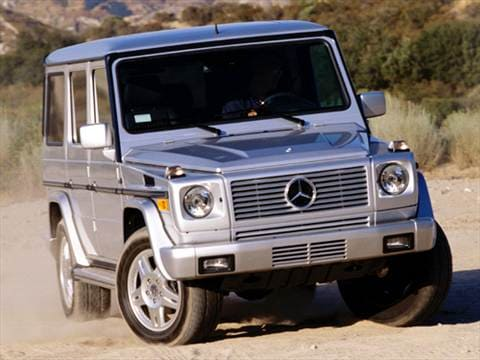 2004 mercedes benz g class pricing ratings reviews for Mercedes benz blue book value
