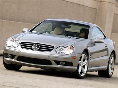 2004 Mercedes-Benz SL-Class SL500 Roadster 2D  photo