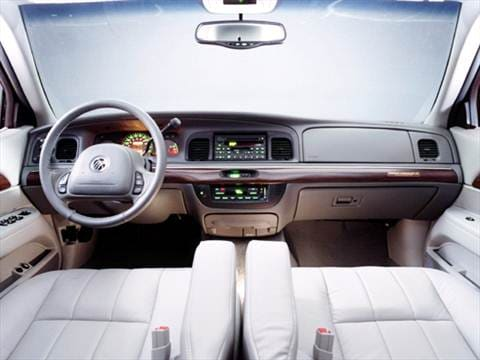 2004 mercury grand marquis Interior