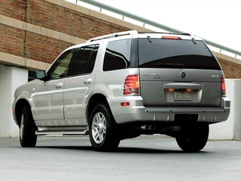 2004 mercury mountaineer Exterior