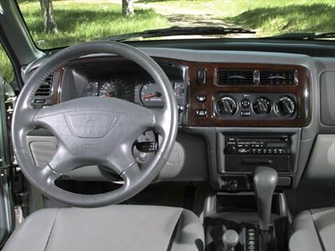 ... 2004 Mitsubishi Montero Sport Interior