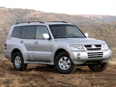 Mitsubishi montero 2004