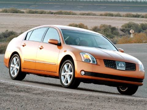 2004 Nissan Maxima Pricing Ratings Reviews Kelley Blue Book