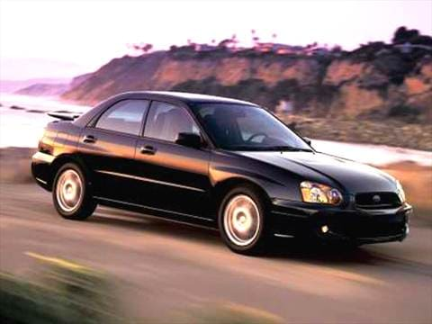 2004 Subaru Impreza Pricing Ratings Reviews Kelley Blue Book