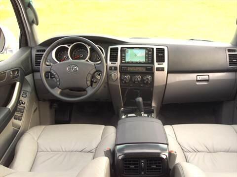 ... 2004 Toyota 4runner Interior