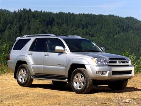 2004 Toyota 4runner. 17 MPG Combined