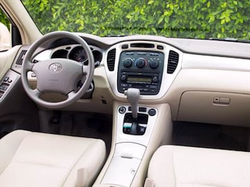 2004 Toyota Highlander Interior