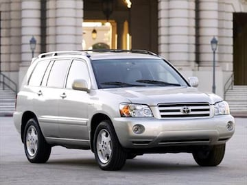 Toyota Highlander Seating >> 2004 Toyota Highlander | Pricing, Ratings & Reviews ...