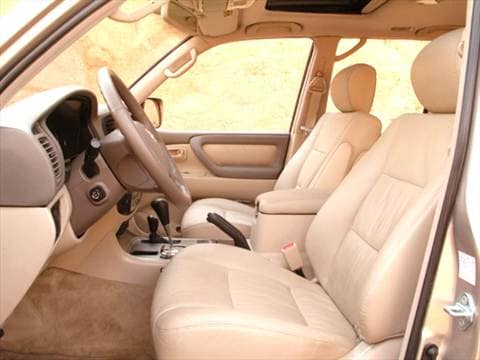 2004 toyota land cruiser Interior