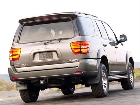 2004 toyota sequoia pricing ratings reviews kelley blue book 2004 Sequoia Interior 2004 toyota sequoia exterior