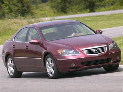 Acura RL Pricing Ratings Reviews Kelley Blue Book - Acura rl 2005 for sale
