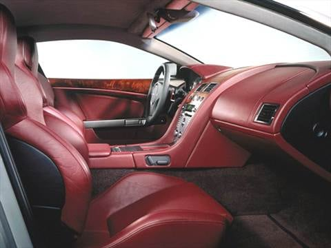 2005 aston martin db9 Interior