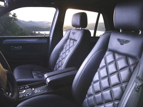 2005 bentley arnage Interior