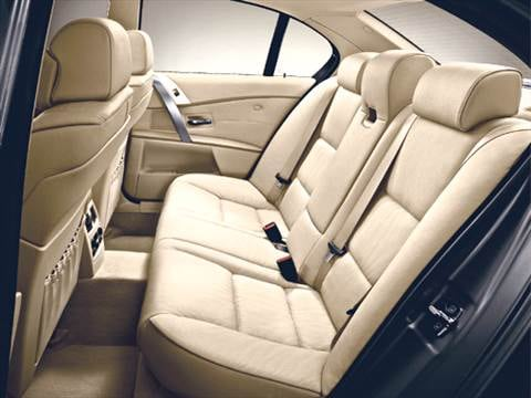 2005 bmw 5 series Interior