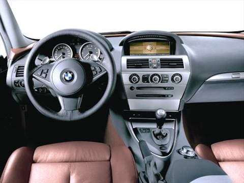 2005 bmw 6 series Interior