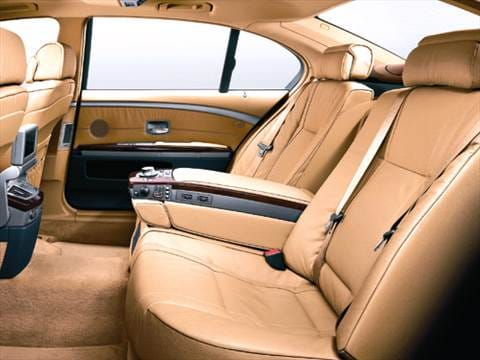 2005 bmw 7 series Interior