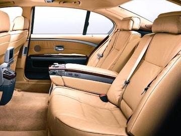 2005 Bmw 7 Series Interior