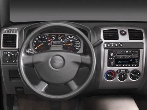 2005 chevrolet colorado regular cab Interior