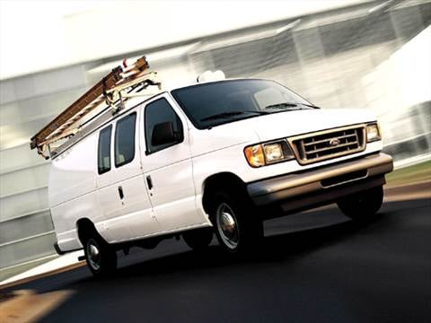 2005 Ford E350 Super Duty Cargo Commercial Van 3D  photo