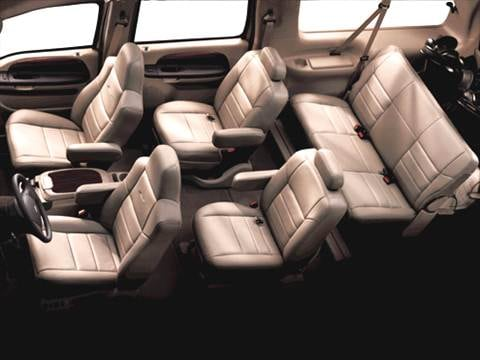 2005 ford excursion Interior