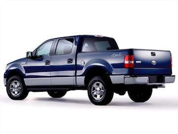 2005 Ford F150 Supercrew Cab Exterior