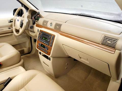 2005 ford freestar cargo Interior