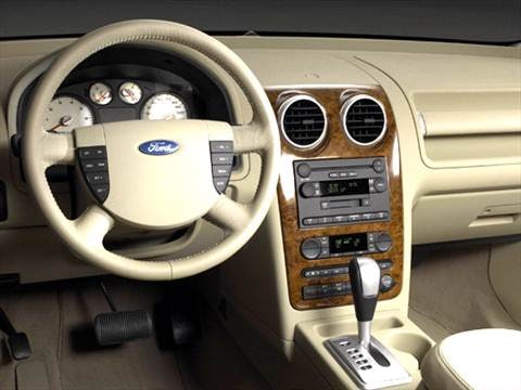 2005 ford freestyle Interior