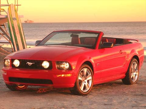 2005 Ford Mustang GT Deluxe Convertible 2D  photo