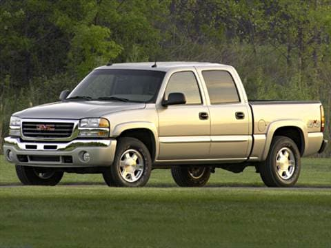 2005 gmc sierra 1500 hd crew cab pricing ratings. Black Bedroom Furniture Sets. Home Design Ideas