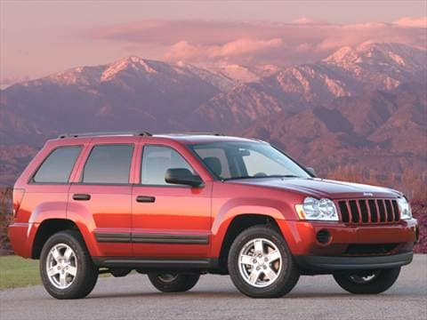 Superb 2005 Jeep Grand Cherokee. 17 MPG Combined
