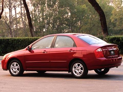 2005 Kia Spectra Pricing Ratings Reviews Kelley Blue Book