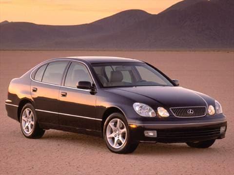 2003 lexus gs300 mpg