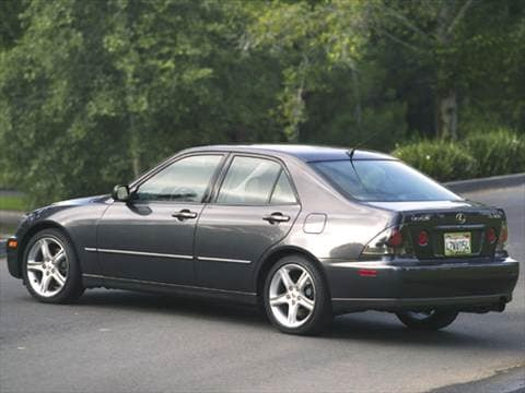 2005 lexus is Exterior