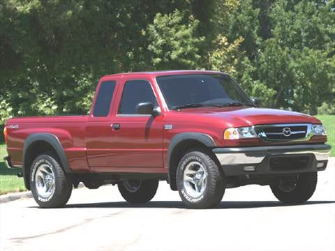 2005 mazda b series extended cab Exterior