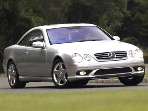 2005 Mercedes-Benz CL-Class CL500 Coupe 2D  photo
